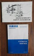 Yamaha Snowmobile Owners Manual Vx700sxa Mm700a Oem Excellent Plus Booklet
