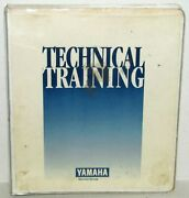 Yamaha Service Group Outboard Inline Engine School Technical Training Binder