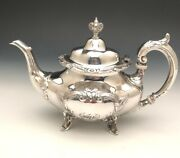 Burgundy By Reed And Barton Tea Pot, Sterling Silver, Gently Used