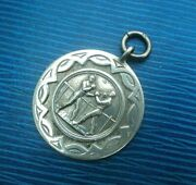 Vintage Sterling Silver Boxing Fob Medal H/m 1931 Fattorini Andsons Not Engraved