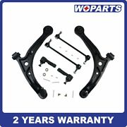 6pc Control Arm Ball Joint Tie Rod Sway Link Kit Fit For Honda Odyssey 1999-2004