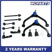 Front Upper Control Arm Ball Joint Tie Rod Sway Link Fit For Jeep Liberty 02-04