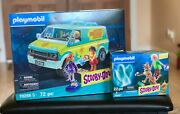 Playmobil Scooby-doo Mystery Machine + Scooby/ Shaggy And Ghost 70286 70287 - New
