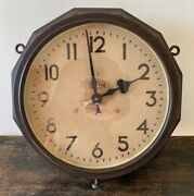 Rare Double Sided Smith Electric Clock