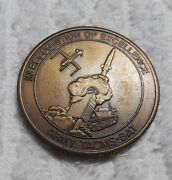 Authentic Us Army Tacms-bat Deep Precision Strike System Rare Challenge Coin