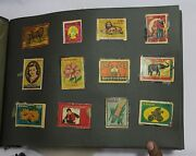Indian Old Vintage Matchbox Mix Labels Sheet Indian Matches Box Collectible 02