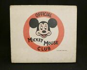 Official Mickey Mouse Club Record Player The Lionel Toy Corporation Model 42015