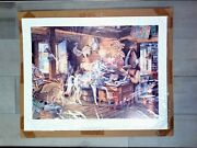 Charles Peterson Andldquocarousel Horsesandrdquo Signed Numbered 21/300 A/p Collectors Edition