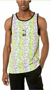 Nwt Limited Edition X Mtv Collab All Over Print Tank Top Shirt Size Small