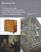 Bonhams Smoking Tobacco Accessories Cases Pipes Lighters Russian Auction Catalog