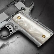 Cool Hand 1911 Full Size Polished Mother Of Pearl Grips Screws Included H1-s-wp