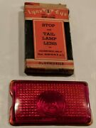 Lynx Eye T-338 Stop And Tail Lamp Lens Oldsmobile 1942-47 Mod 66-68-76-78 R Or L