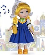 New Disney Animators Collection Its A Small World Holland Singing 16 Doll