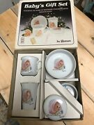 Babyand039s Gift Set By Roman God Sent You The Best He Had Frances Hook 1984 Rare