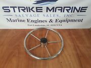 Helm Wheel 15 5 Spoke Stainless Steel With Cap / Cover