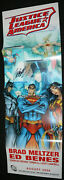 Justice League Of America Jla Promo Poster - 2006 Signed By J. Scott Campbell