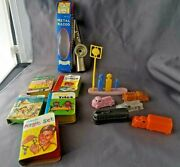 Vintage Assorted Dime Store Toys - 1960's -70's