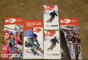 5- Butternut Ski Area Items.trail Maps 18/19 And 19/20 And Racing Brochures Unused