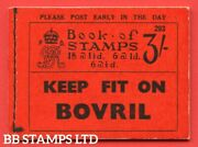 Sg. Bb27. 3/- . Edition Number 293. A Very Fine Example Of This Scarce B48423