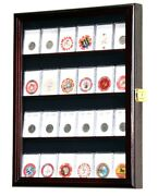 20-24 Collector Ngc Pcgs Icg Coin Slab Display Case Cabinet Holder Rack Lockable