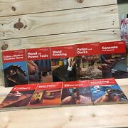 Popular Science Skill Books - Lot Of 9 - Plumbing Power Tools Electrician Build