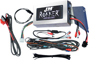 Jandm 800w 4 Channel Motorcycle Amplifier Kit 11-13 Harley Touring Road Glide
