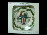 Spode Annual Santas From Around The World 1998 British Santa Plate-new Old Stock