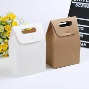 Paper Bag Kraft Gift Giving Souvenir Storage 100 Pcs/lot For Pastry Packages New