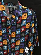 Nwt D23 Disney Expo 2019 Rayon Button Shirtsmallwoody Frozen R2-d2