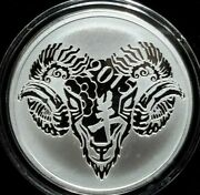 Year Of The Ram V2 Silver Shield Group 1oz Proof 2015 Ssg Unreleased Low Mintage