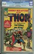 Journey Into Mystery 105 Cgc 9.6 Ow/wh Pages // Avengers + Cobra Appearance