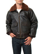 Schott G-1 Leather Naval Aviator Jacket G1s Antique Color New With Tags S-2xl