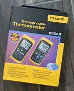 Fluke 52-2 Ii 60hz Dual Input Digital Thermocouple Thermometer Our Daily Deal