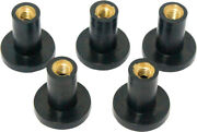 Harddrive Rubber Mounts And Wellnuts Well Nuts 5/pk 19-122