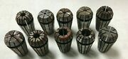 Lot Of 10 Used Tormach Er 25 Collets