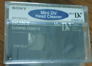 1 Sony Fr Mini Dv Video Head Cleaning Tape Cassette For Canon 3ccd Pro Camcorder