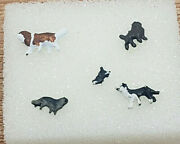 First Additions Painted N Scale Cat And Dogs