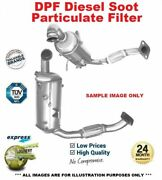 Cat And Sic Dpf Soot Particulate Filter For Peugeot 407 Coupe 2.0 Hdi 2009-on