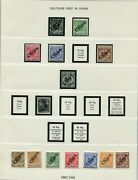 Germany Colonies And Po Abroad Lovely Mh/mnh Collection With Lots Of Good Stamps