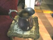 Lovely, Heavy Reed And Barton Silver Plate Pitcher / Jug  --970