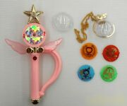 Bandai Sailor Moon Supers Crystal Change Rod From Japan 1995 Vintage Toy Rare