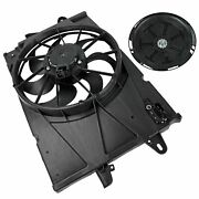 Ac Radiator Condenser Cooling Fan For 2010-2017 Gmc Terrain Chevy Equinox 2.4l