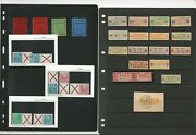 German Area Specialized Stamp Collection On 8 Pages, Labels, Blocks+, Dkz