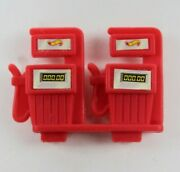 Vintage 1996 Hot Wheels Dual Gas Pump For Service Station
