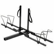 2 Bike Bicycle Carrier Hitch Rack Receiver 2and039and039 Heavy Duty Mount Rack Truck Suv