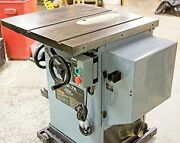 Table Saw Cabinet Saw Delta 36-812 Unisaw 3 Hp Right Tilt Mobile Base