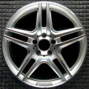 Mercedes-benz C Class Compatible Replica Machined W/ Silver Pockets 18 Inch Whee