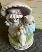 Kitty Cucumber Oh What A Beautiful Morning Schmid Pre Owned Music Box