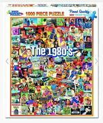 White Mountain Puzzles The 1980and039s 1000 Piece Eighties Jigsaw Puzzle Ccghouse