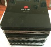 Polycom Hdx 8000 Hd Ntsc Video Conference System Lot Of 3 Tested Free Ship